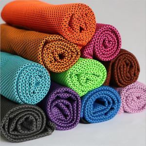 Cool Towel 3D Super Cooling Towels Cooling Effect Sweet-Absorbent Dry Quickly Instant Cooling Refreshing Breathable Summer Towel F2017129
