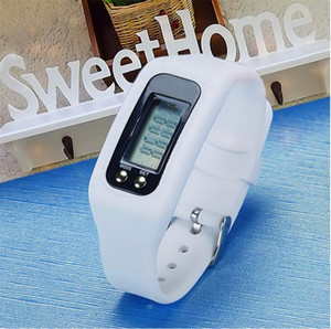 Sports Wristwatch Newly Design Digital LED Distance Calorie Counter Bracelet Colorful Watch For Outdoor Running Walking