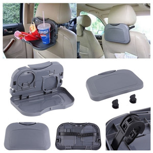 Wholesale Car food tray folding dining table drink holder car pallet back seat water car cup holder