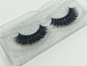 Wholesale Pure Korean Eye Lashes D Real Mink Hair Fur Eyelash Extensions Full Strip Eyelashes For Makeup Beauty Pairs For Sale