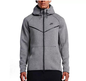 Wholesale Men s Hoodies Sweatshirts Review Autumn And Winter Sports Leisure Male Hooded Cotton Sweater New Fashion Brand Man s Coat Plus Size L X