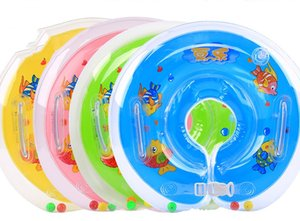 Wholesale Inflatable Collar Baby Swim Necklace Bath Collars Newborn Children Anti Backwards Life Buoy Useful Popular Fashion sk