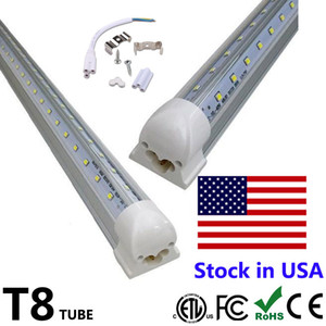 Wholesale 25pcs ft ft ft ft LED Tube Light V Shape Integrated LED Tubes ft Cooler Door Freezer LED Lighting