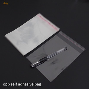 Wholesale 2018 Bolsas De Regalo x22cm Clear Pvc Opp Self Adhesive Packaging Bags for Magazines Newspapers Photos Cds Bread Popcorn Nuts