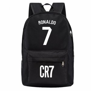 Wholesale Madrid Ronaldo backpack designer backpacks football bags sport waterproof bags kids school bags for teenage boys girls