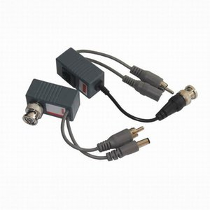 Wholesale CCTV BNC Video Balun UTP Video Balun Power Passive Balun Rj45,POE Video Audio Power 3in1 Transceivers Spare Parts Free Shipping