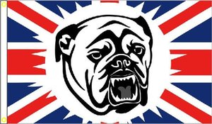 Wholesale British Bulldogs Flag x cm Polyester Union Jack Great Britain GB Banner