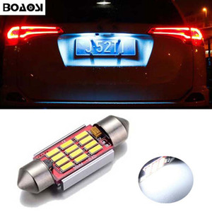 BOAOSI Canbus No Error 36MM C5W LED License Plate Lights Bulbs for Mercedes Benz W208 W209 W203 W169 W210 W211 W212 AMG CLK