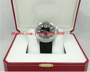 Wholesale Factory Supplier Luxury Watches Wristwatch Original Box NEW CALIBRE DE BLACK DIAL STAINLESS STEEL Mens Men s Watch Watches