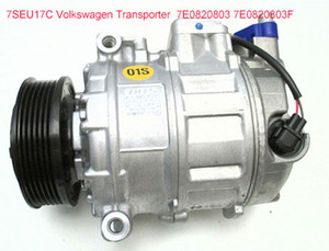 Wholesale vw transporter for sale - Group buy Direct sale Car air conditioning compressor SEU17C VW Transporter T5 Bus TDI E0820803 E0820803F