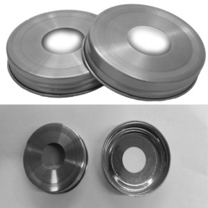 Wholesale jar balls resale online - Wholesales Stainless Steel Rust Resistant Soap Pump Dispenser Lid Adapters for Mason Ball Canning Jars Regular Mouth