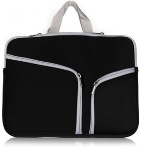 Wholesale New inch inch Laptop Portable Felt Carrying Protective Sleeve Bag For Laptop Suitable Ipad Air Macbook Sleeve DHL PCC053