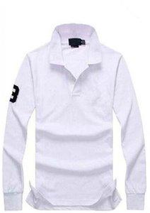 hot sale Casual Polo Shirt Men Fashion Long-Sleeve Men's Polos New Arrival Fashion Brand Polo Shirts Man Slim Shirt