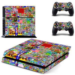 The Hottest Graffiti PS4 Skin Sticker for PlayStation 4 Console and Controllers Decal Vinyl Graffiti Skin