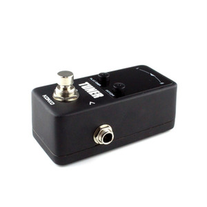 Wholesale pedal guitarra for sale - Group buy Mini Pedal Tuner Guitarra Guitar Bass Violin Ukelele Stringed Instruments Tuner Effect Device Dual Display New Hot