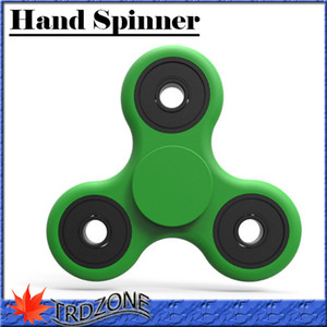 Wholesale 2017 Tri Spinner Fidget Toy Plastic EDC Hand Spinner For Autism and ADHD