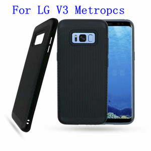 Wholesale 2 in Armor Case For LG Aristo LV3 V3 galaxy J7 J727 J7 Perx J7 Prime Metropcs Dual Layer Protector cover