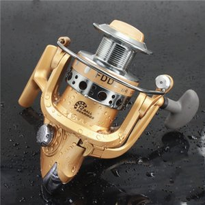 Wholesale Metal Head Spinning Reel Strong SStability Throwing Accuracy Lasting Smooth Aluminum Alloy Material Matt Gold Fishing Wheel Hot Sell jc J1