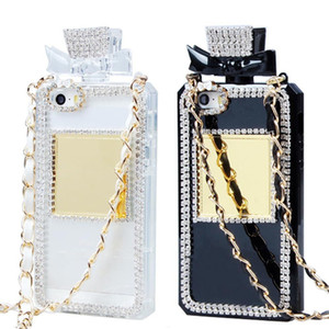 Wholesale black x perfume for sale - Group buy Perfume Bottle Design Shiny Diamond tpu Soft Phone Case for iphone plus x Xr Xs Max Pro Pro Max samsung S20 Note