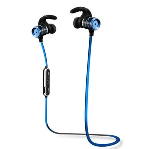 Wholesale S3 Bluetooth Wireless Sport Earphones Metal Stereo Noise Cancelling Sweatproof Headset with Microphone for iPhone Samsung Smart Phones