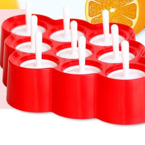 Wholesale MINI POPS Ice Lolly Mould With Cavity High Quality Family necessity DIY Kitchen Tools Cream Ball Maker Popsicle Molds zc J R
