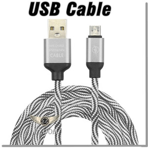 Wholesale New Type C Micro USB Cable Nylon Braided USB Cord A Quick Charging Charger Data Sync Line for Android Samsung LG