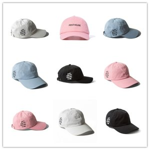 Wholesale Newest Fashion Savage Box Logo Dad Hat Kanye West LIT palace Hat drake ovo Embroidered Baseball Cap Curved Bill Cotton