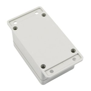 Wholesale- YOC-5* White Waterproof Plastic Electronic Project Box Enclosure Case 100*68*50mm