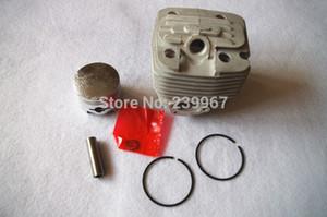 Cylinder w  piston assy 47.5mm fits Zenoah G621 G621AVS 62CC 61.5CC Chainsaw free shipping Cylinder piston kit chain saw parts