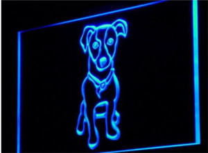 Wholesale Jack Russell Terrier Pet Shop beer bar d signs culb pub led neon light sign home decor crafts