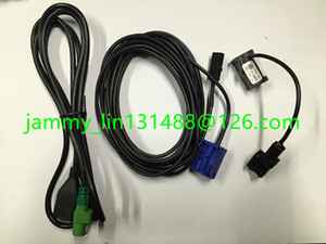 Free shiping Car Radio Micphone Mic Bluetooth Cable Aadaptor USB cable wire For BMW E90 X1 with BMW Professional 1sets
