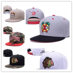 Hot New style Arrived Chicago Blackhawks gorras planas Hat Adjustable Baseball bones aba reta Snapback Hockey Cap Adjustable Hiphop