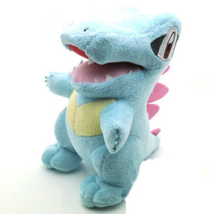 Wholesale New Fairy Tail Happy Blue Cat With Fish Fly Wings Cartoon cm Anime Soft Stuffed Plush Doll Kids Toys