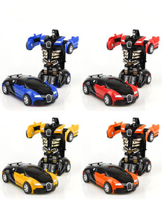Step-by-step deformation of the toy King Kong 5 Bugatti a key turned male and female pocket puzzle PK model. on Sale