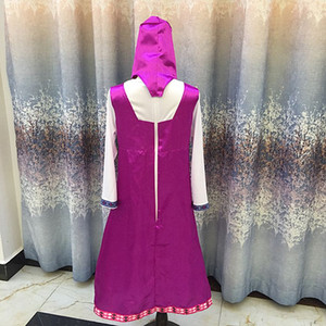 Wholesale roupa da masha and bear clothing costume for kids masha y el oso cosplay party decoration childrens fancy dress anime onesie