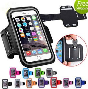 Wholesale for iphone Armband case Sports Running Gym Case Workout Armband Holder Pounch For S7 Edge Iphone Arm phone Bag