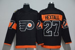 Wholesale #27 Ron Hextall Jersey S-5XL Men's 2017 Stadium Series Player Premier Philadelphia Flyers 100% Stitched Embroidery Logos Hockey Jerseys