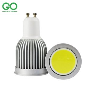 led Spotlight GU10 7W Dimmable COB Spotlights 110V 120V 220V 230V 240V Reflector Spot Lamp Equal 70W Halogen Lamps Indoor Lighting on Sale