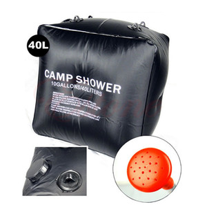 Wholesale Camping water bags 40L Portable Outdoor Hiking Folding Solar Camp Shower Water Bathing Bag