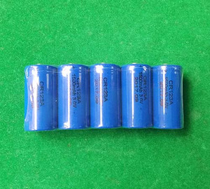 Wholesale cr123a batteries resale online - 1200pcs v Non rechargeable Lithium battery CR123A CR17345 DL123A mAh for flashlight camera