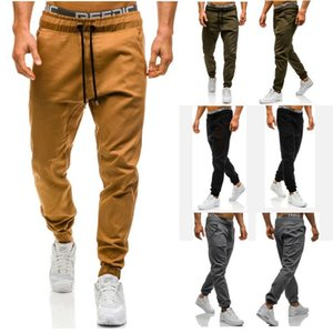 Wholesale Men Joggers New Casual Pants Men Brand Clothing High Quality Spring Long Khaki Pants Elastic Male Trousers Mens Joggers XL