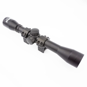 óptica de aire al por mayor-Táctico x32 Rifle de aire Optics Sniper Scope Vista Compacto RiflesCopos Caza Pistola de aire Rifle Scopes con mm mm Montajes de riel