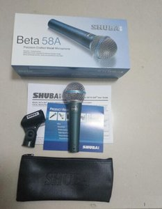 Wholesale Original SHUBA Beta58A wired computer microphone network K song instrument recording vocal microphone