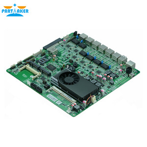 Firewall motherboard N70SL supports Intel 1037U Dual core processor with 6*USB 2*COM for 6 LAN Free Shipping
