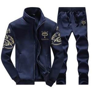 Wholesale Tracksuits Men Leisure Sport Suit Luxury Men s Sportswear Brand Hoodies Hip Hop Jogger Set Cool Sweatshirt Sudaderas Hombre