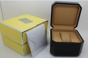 High Quality Mans Wrist Watch Boxes Swiss Top Brand Box Paper For Breitling Watch Booklet Card in English For Men Sale