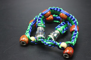 Wholesale stash bracelet Stealth Pipe click n vape incognito bracelet smoking pipe for tobacco discreet sneak a toke