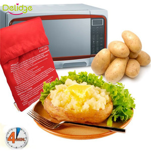 Wholesale microwave oven bag resale online - Oven Microwave Baked Red Potato Bag For Quick Fast cook potatoes at once In Just Minutes Washed Potato Bags