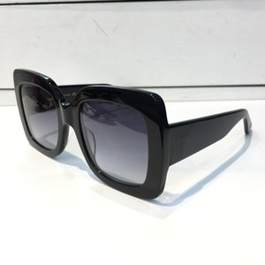 ecec95e7352 0083 Popular Sunglasses Luxury Women Brand Designer 0083S Square Summer  Style Full Frame Top Quality UV