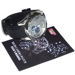 Wholesale Hd p Mini Waterproof Camcorders Camera Portable Watch DVR Gb with Ir Night Vision Mini Pocket DV